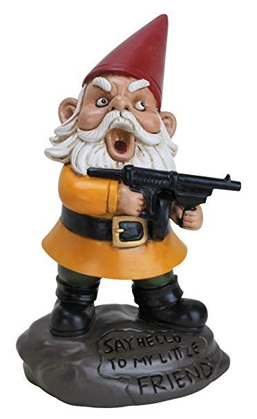 Angry Little Gnome