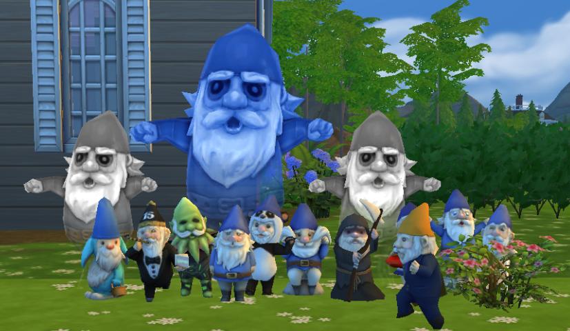 Sims 4 Gnomes