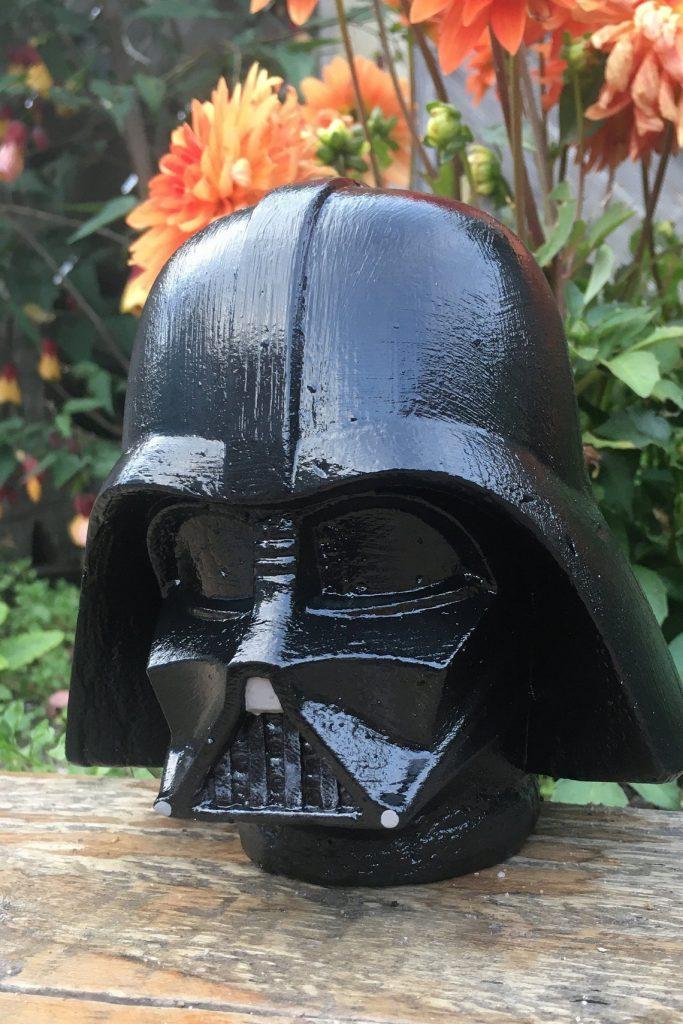 Darth Vader Concrete Garden Ornament