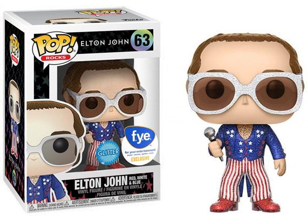Elton John Glitter Edition