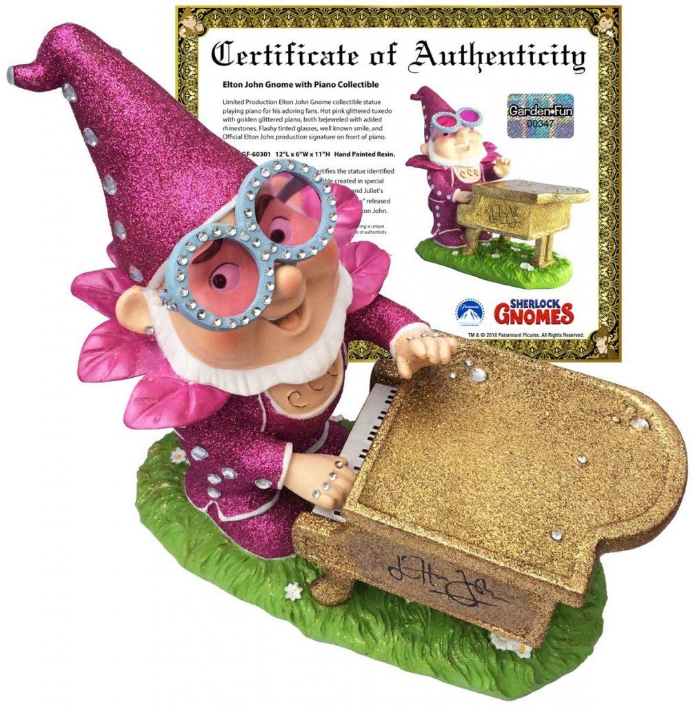 Sherlock Gnomes Elton John Gnome